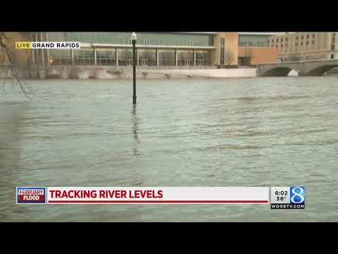 Water continues to rise in West Michigan