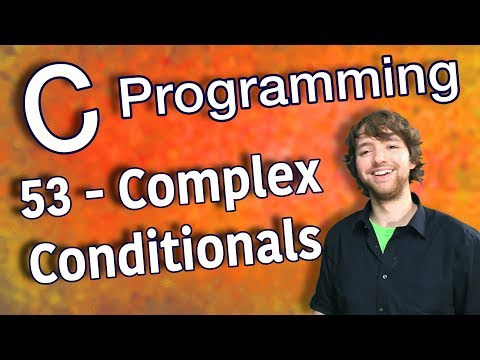 C Programming Tutorial 53 - Evaluating Complex Conditionals thumbnail