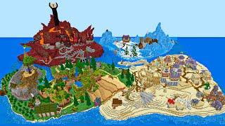 Игроки создали СВОЙ Майнкрафт Мир На Сервере! #5
