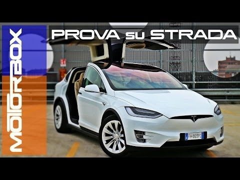 Tesla Model X: la prova di MotorBox
