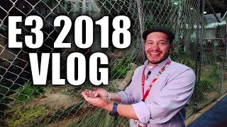 A day at E3 2018 - SomeGadgetGuy Vlog