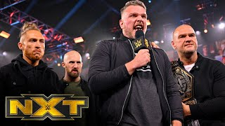 Pat McAfee's parting message for The Undisputed ERA before WarGames: WWE NXT, Dec. 2, 2020