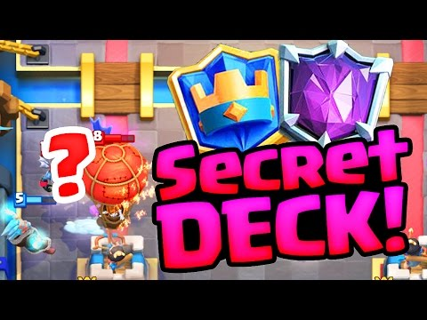EXPOSED!! The 'SECRET DECK' of the TOP PLAYER  in Clash Royale!
