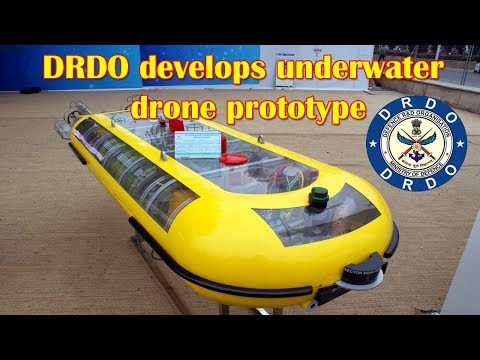DRDO develops underwater drone prototype