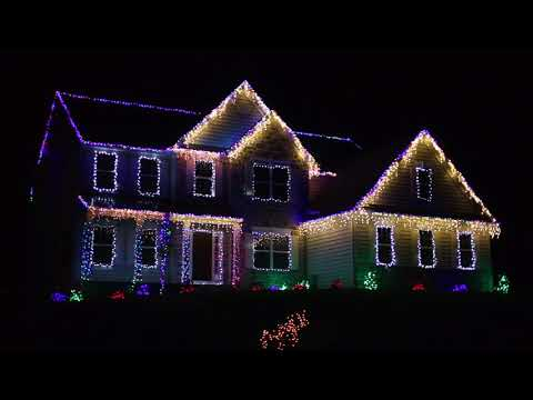 Epic Christmas Light Display Synced To Music