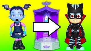 Vampirina and PJ Masks Fun Transformations in the Glo Tastic Chang