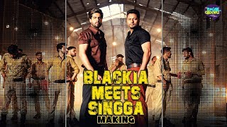 BLACKIA meets SINGGA making Only on Punjabi grooves
