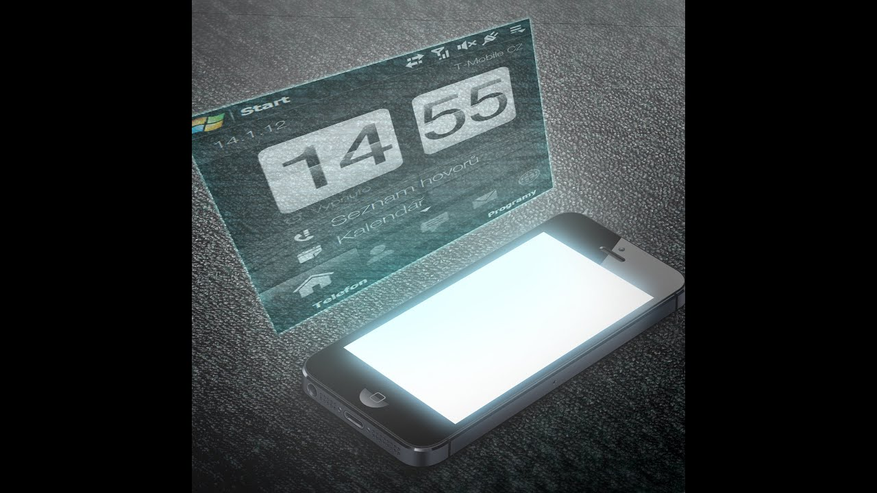 New holographic phone to be sold commercially by 2015!