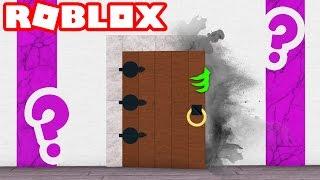 What is behind the SECRET DOOR in Roblox??