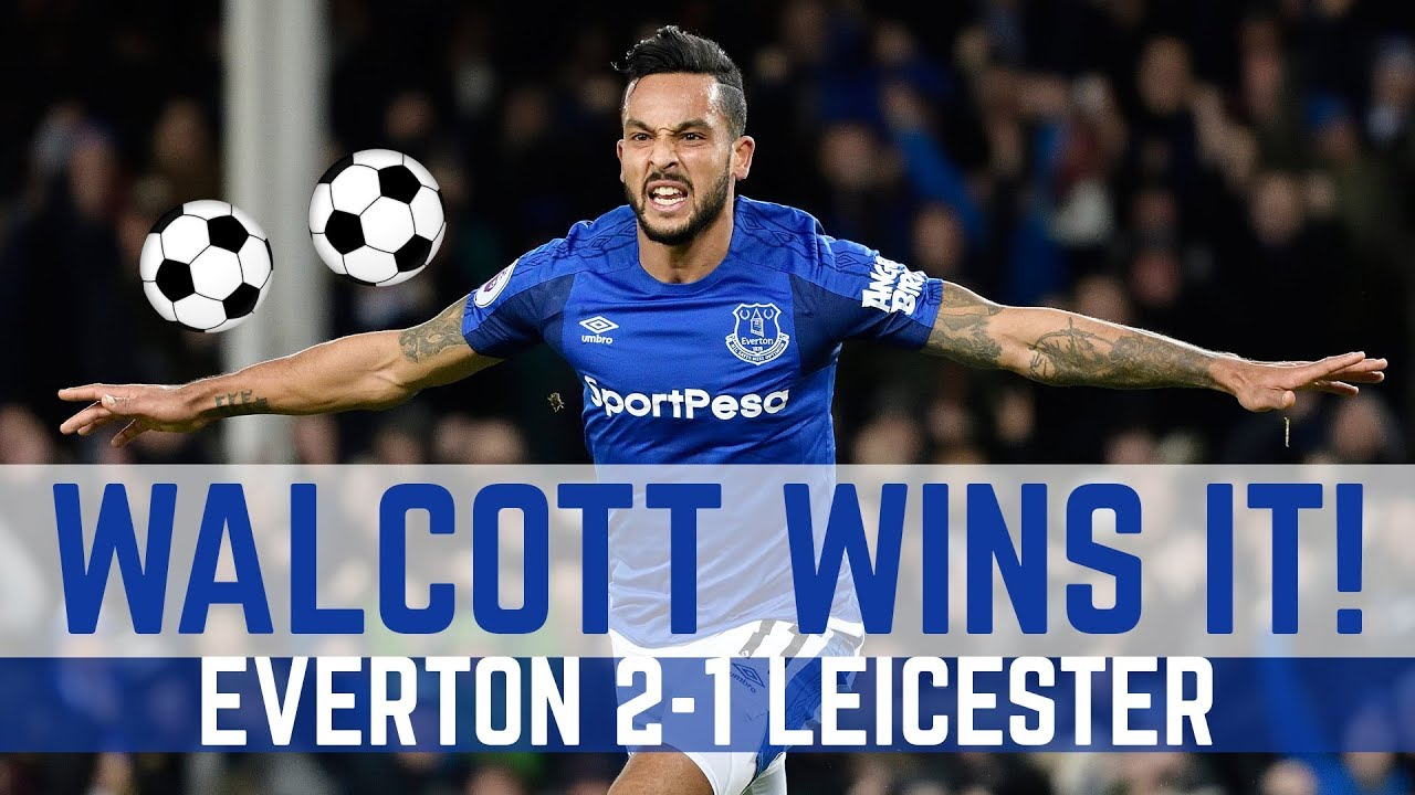 Download WALCOTT'S FIRST EVERTON GOALS!