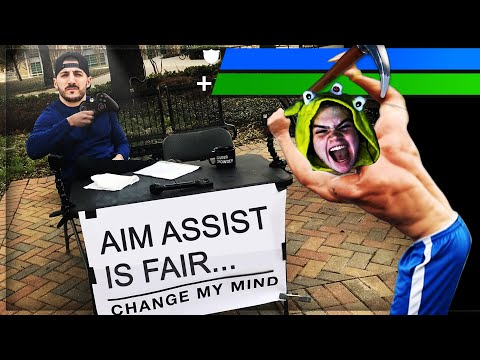 Fortnite MEMES That Made Epic NERF AIM ASSIST...