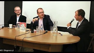 """Premiera książki """"Pozamiatane"""" (Piotr Gociek, Rafał Ziemkiewicz, Wiktor Świetlik)"""