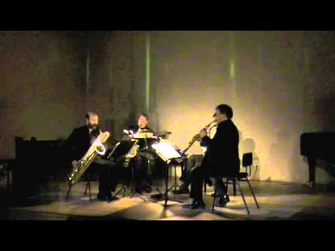 Aurelia Saxophone Quartet - ...so softly - Ian Wilson