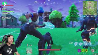 Fortnite Squads With My Kids, Part 1   Fortnite Battle Royale   ClintusGames
