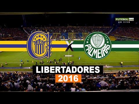 Gols - Rosario Central 3 x 3 Palmeiras - Libertadores 2016 - 06/04/206 - Futebol HD
