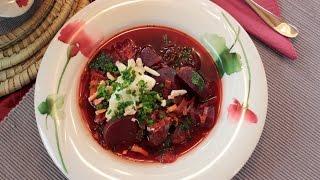 Rote Bete / Rüben Eintopf Suppe schnell und einfach zubereiten Rezept vegan / vegetarisch