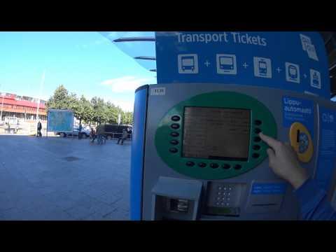Как купить билет в Хельсинки, Финляндии. Билетные автоматы. Ticket machine. Helsinki, Metro
