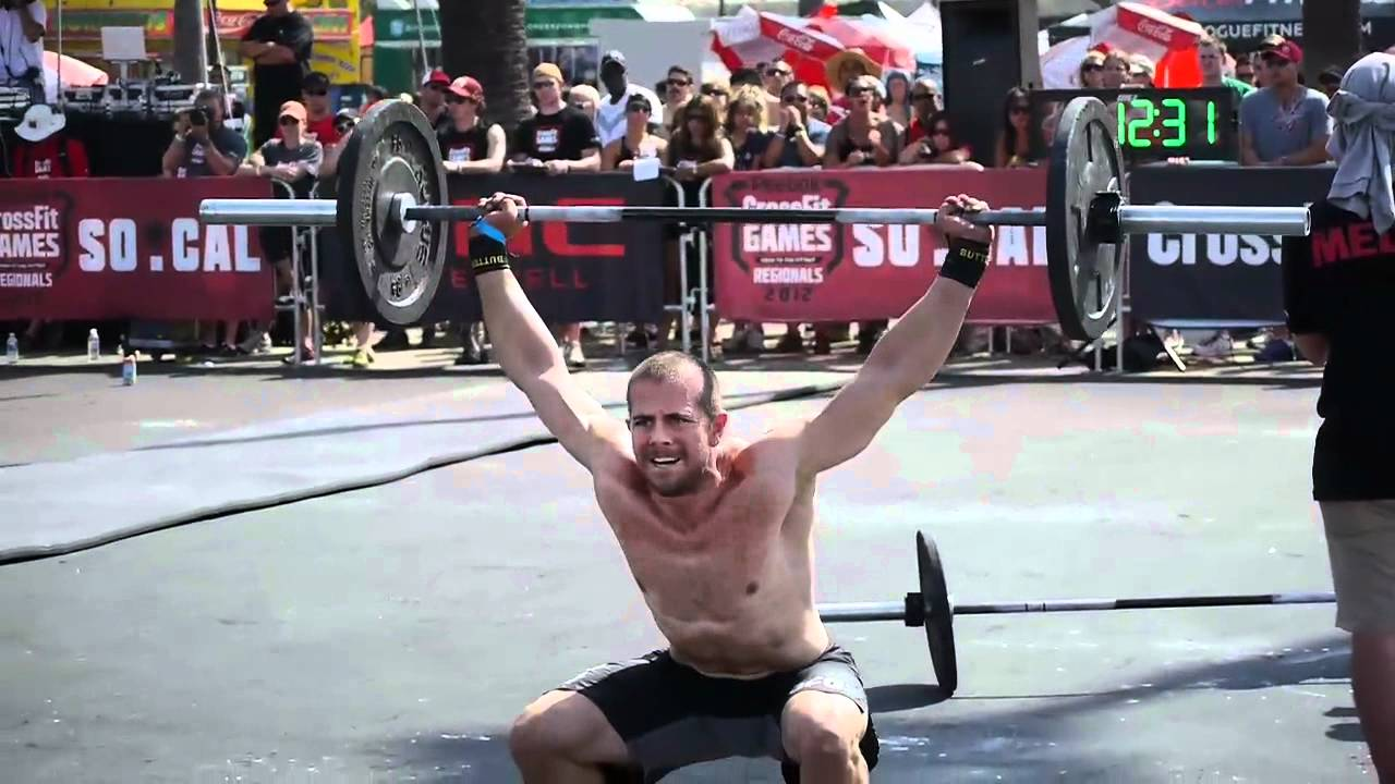Crossfit Games Regionals 2012 Jeremy Kinnick After Day 2
