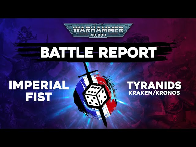 Rapport de bataille Warhammer 40000 - Imperial fist VS Tyranids - 2000pts ITC