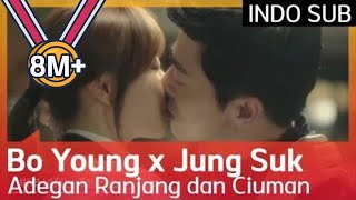 💋💋💋 Adegan Ranjang dan Ciuman Manis Bo Young ♥ Jung Suk #OhMyGhost 🇮🇩 INDO SUB🇮🇩