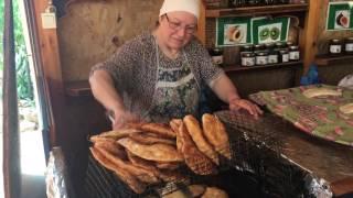 Приготовление черкесских чебуреков с творогом
