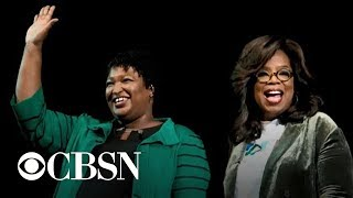 Oprah campaigns for Georgia gubernatorial candidate Stacey Abrams