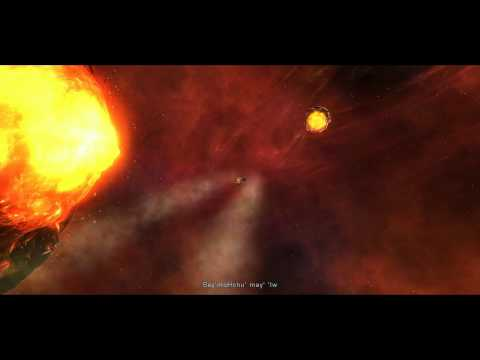 Star Trek Online - The Doomsday Device (K'Valk suicide run into the mouth of the beast)