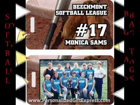 Personalized Softball Gifts - Personalized Gift Express