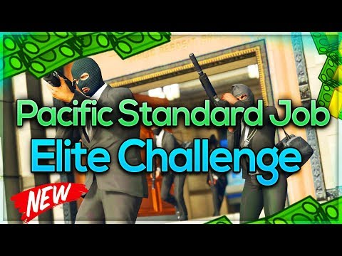 PACIFIC STANDARD JOB : ELITE CHALLENGE : 100% WORKING AFTER DOOMSDAY HEIST DLC