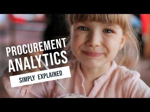 Procurement Analytics Simply Explained - video