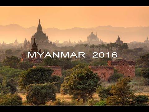 Dovolená Myanmar 2016