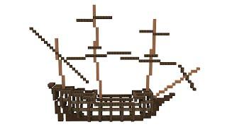 Minecraft Ship Building Guide Frame