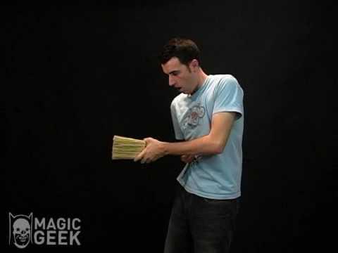 Broom Thru Body Illusion