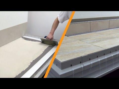 Konstrukcja Balkonowa Układany Luzem Kamień Naturalny Na Dystansach Z Zaprawy Wraz Z Drenażem