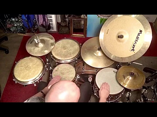 Jimmy Lopez percussionist inspired Bendir groove