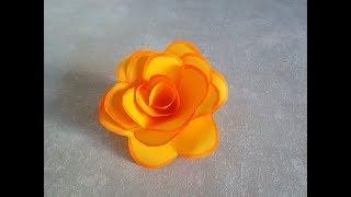 Подарки к  8 Марта своими руками.  Розы из бумаги очень просто и красиво