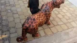"Rottweiler,german Sherpard And Boerboel Vs ""leopard"""