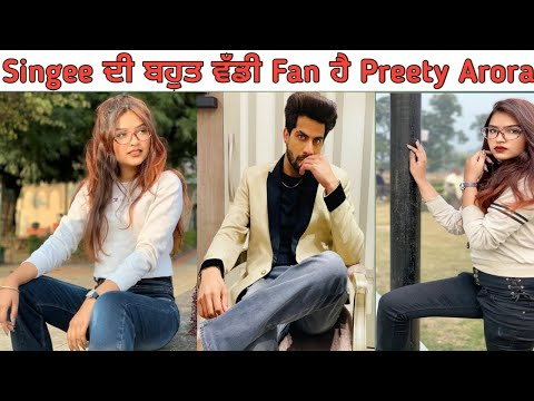 First Interview  Tik Tok Star Preety Arora  I Phone Girl  Nikki  Chirag Arora