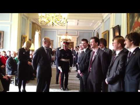 DUKE OF EDINBURGH GOLD AWARDS - HILLSBOROUGH CASTLE