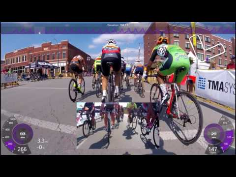 Tulsa Tough 2017 Saturday Cat 3 - One Lap too long for my break
