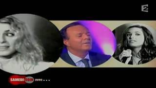 Julio Iglesias  Natasha St- Pier Et Julie Zenatti 1.avi