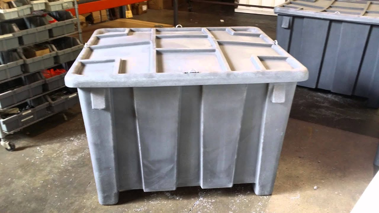 Bulk Storage Containers Material Handling Containers Plastic