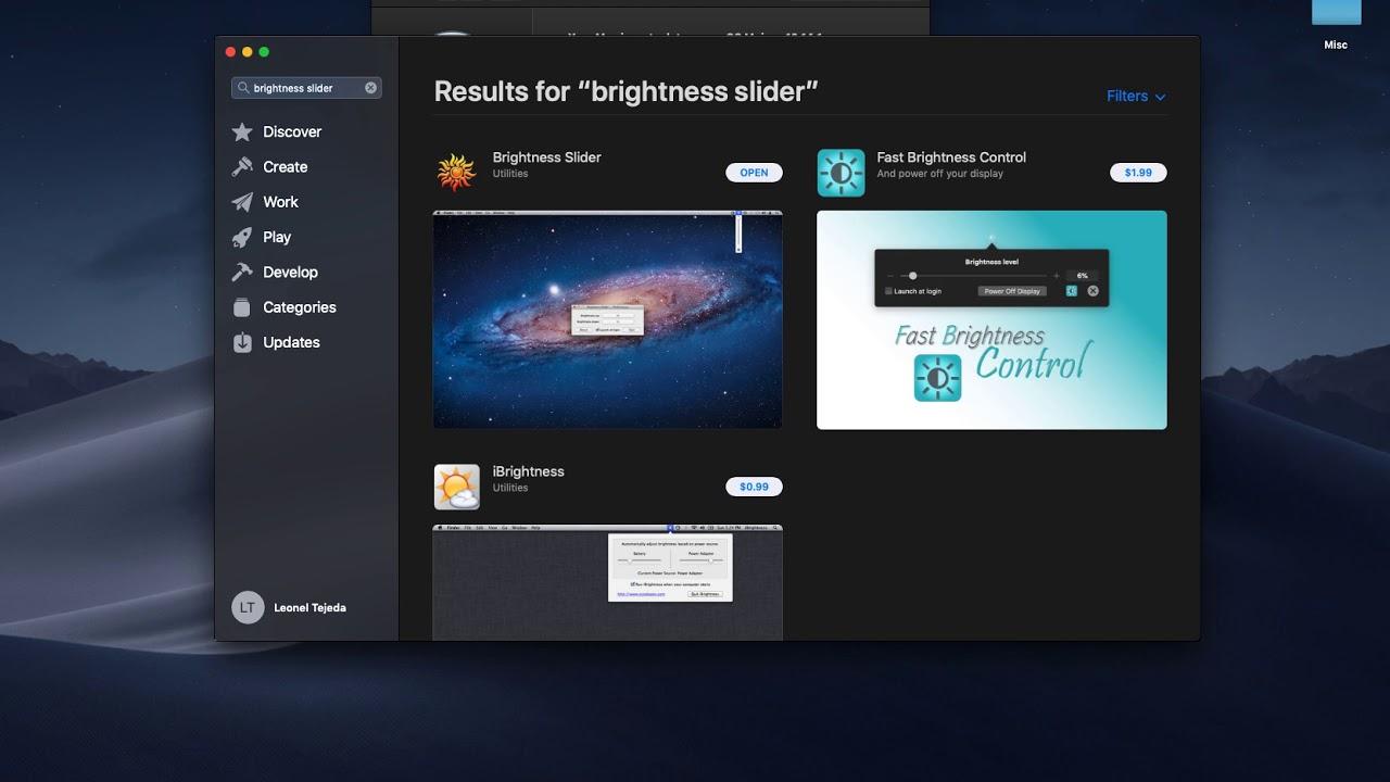 mac mini brightness keys not working