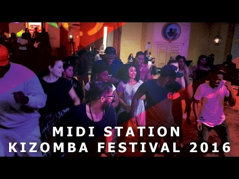 Midi Station Kizomba Festival After Movie In Belgium, Brussels | 2016 HD