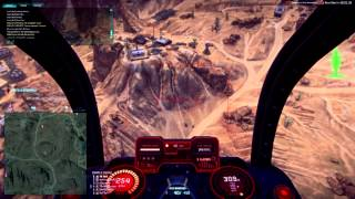 Planetside 2 Mosquito M14 Banshee and Hellfire Rocket Pods INFANTRY FARM