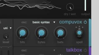 iZotope VocalSynth | Compuvox Audio Example - Basic Syntax