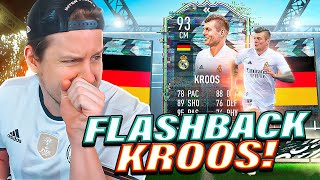 WE FINALLY GOT HIM! 93 FLASHBACK KROOS PLAYER REVIEW! FIFA 21 Ultimate Team