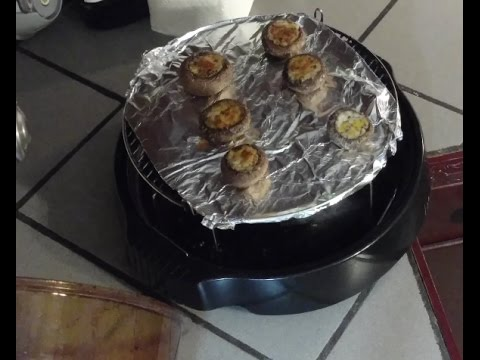 Stuffed Mushrooms Nuwave Oven Heating Instructions Youtube
