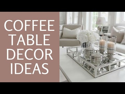 How To Style A Coffee Table  ♥ Glam Coffee Table Home Decor Styling 101 ♥Lantern Decor