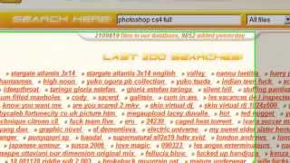 How to search Megaupload